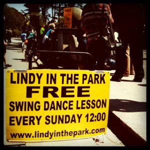 Free swing dancing lessons in the park-10 Inexpensive Date Night Ideas